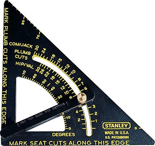 Esquadro Ajustável Premium Quick Square10-7/8' X 6-3/4', Stanley