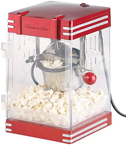 """Rosenstein & Söhne Popcorn-Machine: Retro-Popcorn-Maschine\""""Theater\"""" im 50er-Jahre-Look, 230 Watt (Profi-Retro-Popcorn-Maschinen)"""