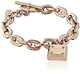 Michael Kors Rose Gold Tone Toggle Link Bracelet