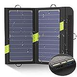 X-DRAGON 14W Panneau Solaire Dual USB SunPower Chargeur Solaire for...