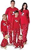 PajamaGram Family Pajamas Matching Sets - Snoopy Pajamas, Red, Pet Medium