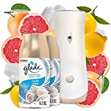 Glade Automatic Spray Refill and Holder Kit, Air Freshener for Home and Bathroom, Clean Linen, 6.2 Oz, Pack of 2 Refills