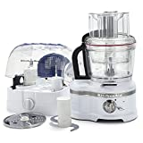 KitchenAid ProLine 16 Cup Frosted Pearl White Food Processor with ExactSlice System