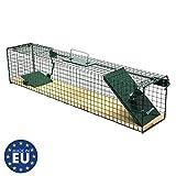 Moorland Piège de Capture - Cage A Une entrée - pour Petits Animaux Lapins,...
