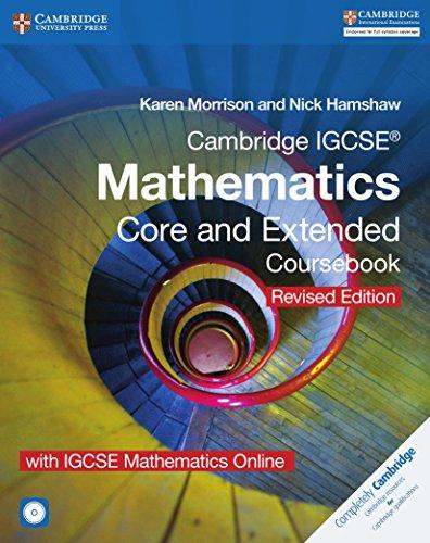 Cambridge IGCSE® Mathematics Core and Extended Coursebook with CD-ROM and IGCSE Mathematics Online