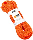 PETZL - Push 9 mm, Rope Designed for Independent Caving and Canyoning, Orange, 60 m