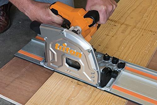 Triton 534156 Lot de 4 scies sur rail Noir 185 mm 1400 W