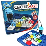 ThinkFun Circuit Maze Electric Current Brain Game and STEM Toy for Boys and Girls Age 8 and Up - Toy of the Year Finalist, Teaches Players about Circuitry through Fun Gameplay (Toy)