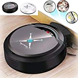 Misszhang-US Automatic Smart Robot Vacuum Cleaner Home Rechargeable Suction Dust Sweeper Black