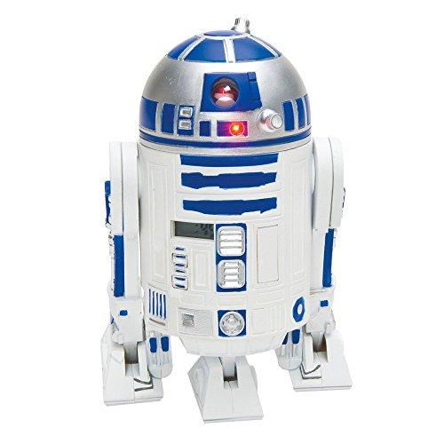 MIK funshopping Star Wars Wecker R2-D2 mit Sound & Zeit-Projektion