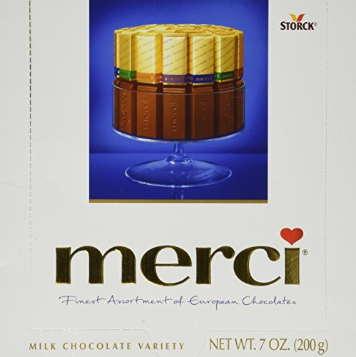 MERCI Assorted Milk Chocolates (200g , 7oz)