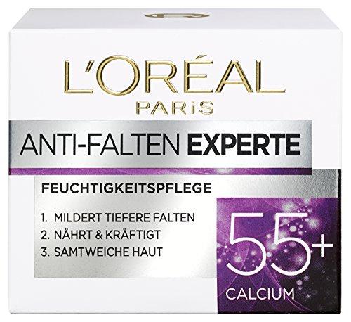 L\'Oréal Paris Anti-Falten Experte Feuchtigkeitspflege, für 55+, für straffere und samtweiche Haut, 50 ml