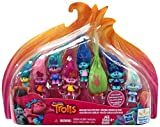 Dreamworks Trolls Movie Exclusive Wild Hair Collection Pack (8 Mini Trolls), 1.25 Inches