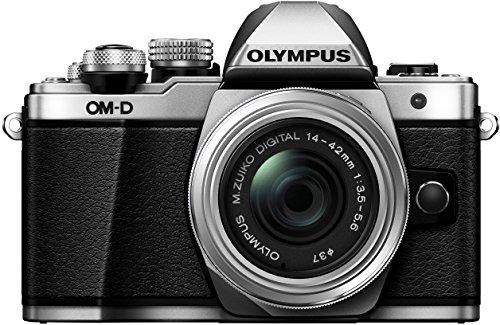 Olympus E-M10 Mark II Kit con Obiettivo M.Zuiko Digital 1442 mm 1:3.55.6 II R, Argento