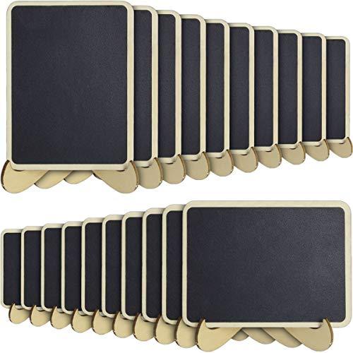 iGadgitz Home U6931-KIT - Mini Lavagnette Segnaposto Mini Lavagna Cancellabile Lavagnette Promemoria...