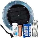 DR Global Solar Pool Ionizer - Keeps Your Pool or Spa Crystal Clear Year Round   Use 80% Less Chlorine, Algaecides or Other Harsh Chemicals   Saves You $$ Hundreds per Year in Chemicals
