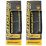 Continental GatorSkin DuraSkin Tire, 2-Count (Folding, 700 x 25mm)
