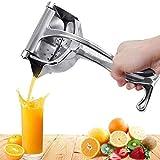 Hunk shopper's Stainless Steel Manual Fruit Juicer Hand juicer, Fruit juicer Manual juicer Instant juicer Orange juicer, Steel Handle Juicer | Manual Lemon Juicer