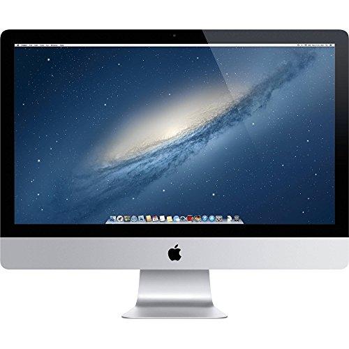 Apple iMac 21.5-inch Desktop (Intel Core i5 2.7 GHz, 8 GB RAM, 1 TB HDD, Intel Iris Pro, OS X El Capitan) - Silver - 2013 (Refurbished)