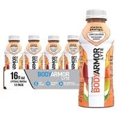 BODYARMOR LYTE Sports Drink Low-Calorie Sports Beverage, Peach Mango, 16 Fl Oz (Pack of 12), Natural Flavors With Vitamins, Potassium-Packed Electrolytes, No Preservatives, Perfect For Athletes