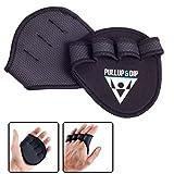 PULLUP & DIP Grip Pads pour Pull-Ups Fitness Musculation du Culturisme, 1...