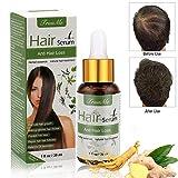 Anti Chute Cheveux, Hair Serum, Croissance Cheveux Huile Essentielle, anti chute de cheveux homme, Sérum capillaire naturel à base de plantes