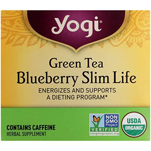 Yogi Tea, Green Tea Blueberry Slim Life, 16 Count 5