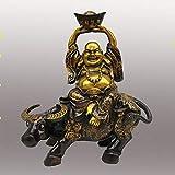 ZFLL Statue de Bouddha Collectiondécorée en cuivre sculpté...