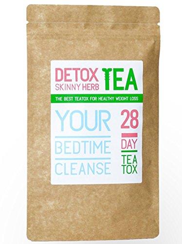 28 Days Bedtime Cleanse Tea : Detox Skinny Herb Tea - Effective Detox Tea, Support Natural Weight Loss Tea, 100% Natural 1