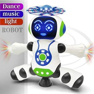 Dancing Robot with Music for kids | Dancing Naughty Robot with 360 rotation for Kids,