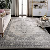 Safavieh Brentwood Collection BNT865B Area Rug, 9' x 12', Cream/Grey