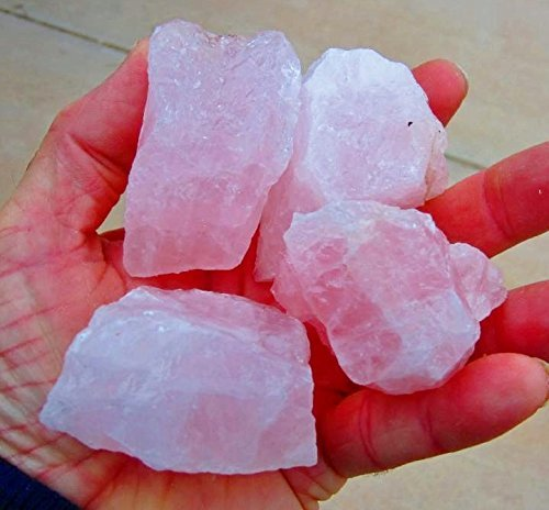 GeoSpecimens Wholesale Rose Quartz 0.5 LB Pink Quartz...