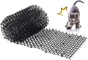 Kyrieval Tapis Anti-Chat avec Epine Grille Jardin Anti Chiens, Chats Animaux de Compagnie 200 x 30 cm