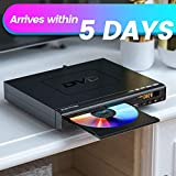 ELECTCOM DVD Player, DVD Player for TV HDMI with Remote, Region Free DVD Player USB
