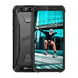 Blackview BV5500 pro- Rugged Cell Phone Unlocked 4G LTE (AT&T/T-Mobile), 5.5 inch FHD+, 4400mAh Battery, 3GB RAM+16GB Memory, Android 9 Rugged Phone, IP68 Waterproof Outdoor Smartphone, Dual SIM/NFC