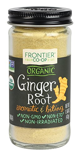 Organic Ground Ginger Root