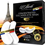 Under Eye Mask Collagen Eye Mask Sports Under Eye Pads Anti-Aging Hyaluronic Acid Eye Patches Gel Eye Patch for Moisturizing & Reducing Dark Circles Puffiness Wrinkles