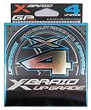よつあみエックスブレイド(X-Braid) アップグレード X4 150m 0.2号 4lbオーキドホワイト1m15cm毎 ウルゲソピンクマーク