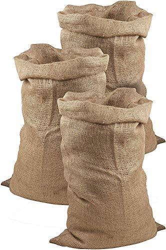 Juego de 3 sacos de yute de Meister, 105 x 60 cm, 50 kg de c