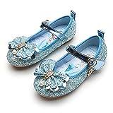 Eleasica Zapato de Cosplay, Plantilla Dibujo Princesa Elsa, Cierre de Velcro,...