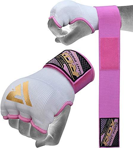 RDX Fasce Boxe MMA Guanti Interi Sottoguanti Bende per Mani Polsi Elastiche Pugilato Bendaggi