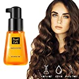LLDF 70mL Super Curl Defining Booster Hair Fixing Care Essence Oil Reduces Frizz...