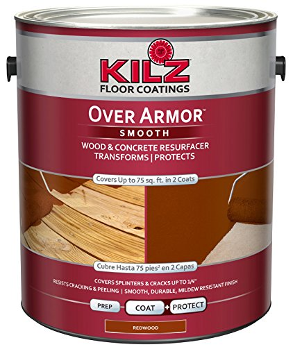 Best for Deck Restoration: KILZ Over Armor Smooth