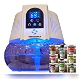 Water Air Purifier and Ionizer with 2 bottles of oil Fragrances