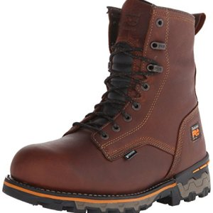 Timberland PRO Men's 8″ Boondock Soft-Toe Waterproof Work and Hunt Boot