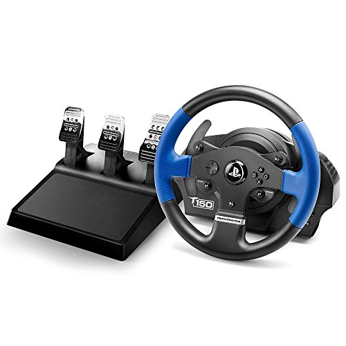 Thrustmaster T150 RS PRO (Lenkrad inkl. 3-Pedalset, Force Feedback, 270° - 1080°, PS4 / PS3 / PC)