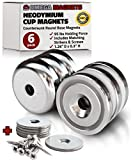 Strong Neodymium Cup Magnets...