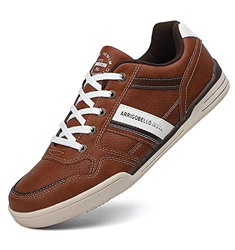 TARELO Zapatillas Hombre Vestir Zapatos Casual de Cordones...