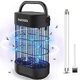 FOCHEA Lampe Anti-Moustique, Piège à Insectes Volants Électrique UV 14W, Destructeur de Moustiques, Moustique Tueur Lampe, Alimenté par EU Adapdateur, 1 Tube de Rechange Offert
