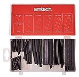 Am-Tech Lot de 127 gaines en plastique thermorétractable S6205